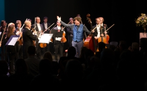 Feb 2018, charity fundraiser, DeLaMar theatre Amsterdam with Concertgebouw Chamber Orchestra
