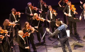 Charity fundraiser, DeLaMar theatre Amsterdam with Concertgebouw Chamber Orchestra